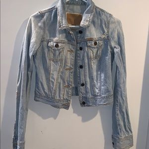 Hollister Light washed jean jacket